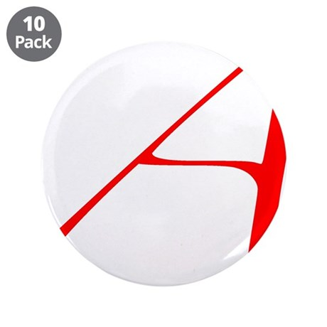 """The Atheist """"A"""" 3.5"""" Button (10 pack)"""