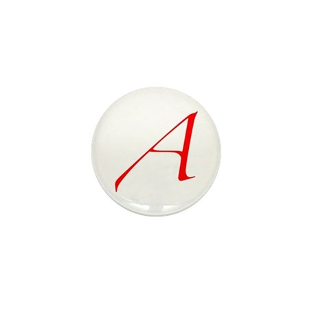 """The Atheist """"A"""" Mini Button (10 pack)"""