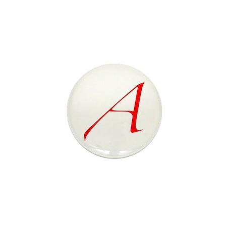 """The Atheist """"A"""" Mini Button"""