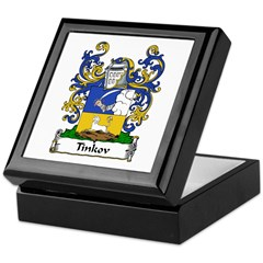 Tinkov Family Crest Keepsake Box
