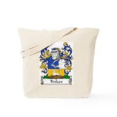 Tinkov Family Crest Tote Bag
