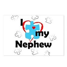 I Love My Nephew - Autism Postcards (Package of 8)