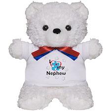 I Love My Nephew - Autism Teddy Bear