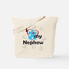 I Love My Nephew - Autism Tote Bag