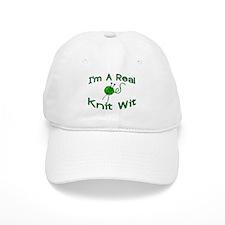 Knit Wit Baseball Cap