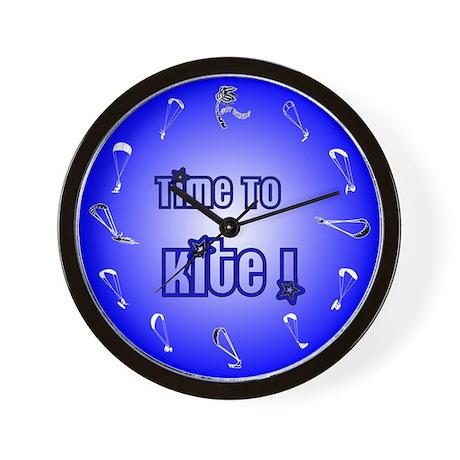 Kiteboarding Kitesurfing Wall Clock