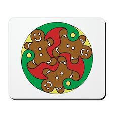Gingerbread Triskele Mousepad