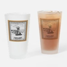 Jackalope Common Drinking Glass