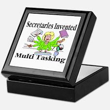 Secretaries Multi Task Keepsake Box