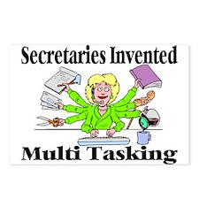 Secretaries Multi Task Postcards (Package of 8)