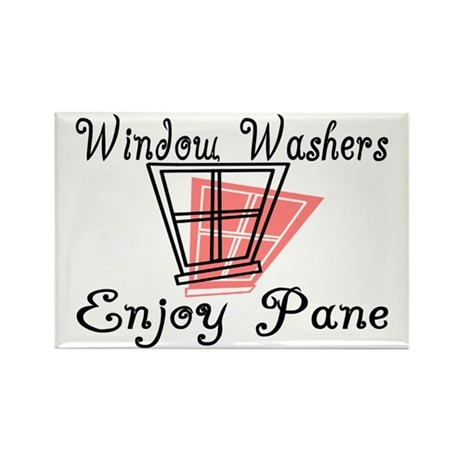 Window Washer Pane Rectangle Magnet (100 pack)
