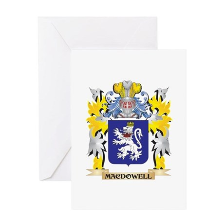 Macdowell Coat of Arms - Family Cre Greeting Cards