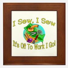 I Sew I Sew Framed Tile