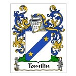 Tomilin Family Crest Small Poster