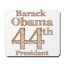 Obama 44th Mousepad