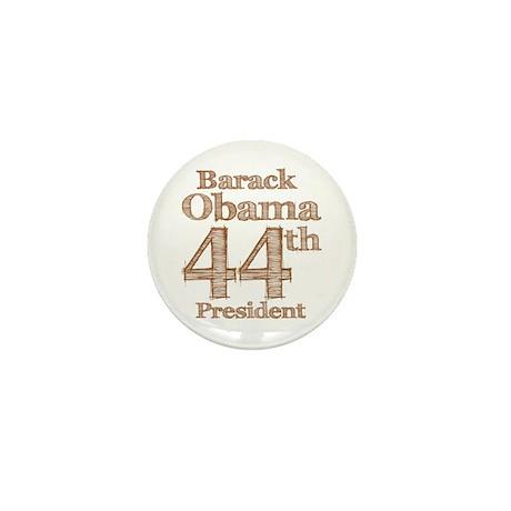 Obama 44th Mini Button (100 pack)