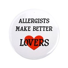 """Allergist Gift 3.5"""" Button"""