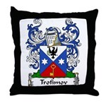 Trofimov Family Crest Throw Pillow
