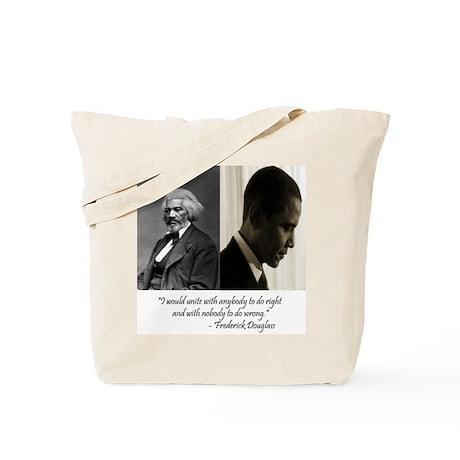 Douglass-Obama Tote Bag
