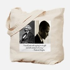 Douglass-Obama Tote Bag
