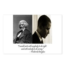 Douglass-Obama Postcards (Package of 8)