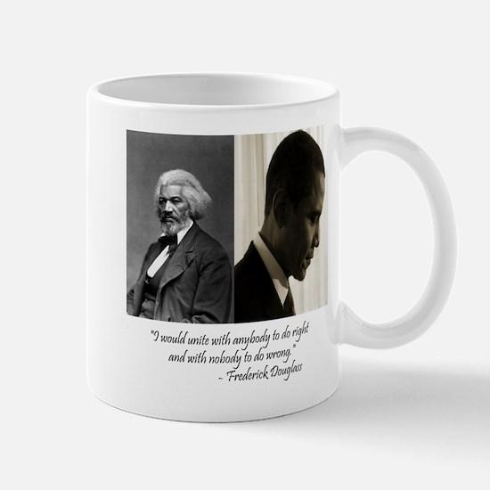 Douglass-Obama Mug
