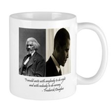 Douglass-Obama Small Mug