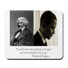 Douglass-Obama Mousepad