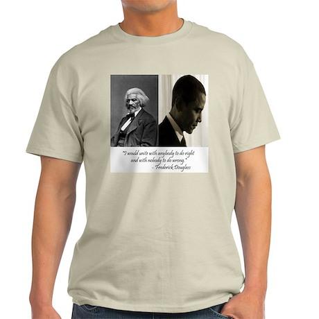 Douglass-Obama Light T-Shirt