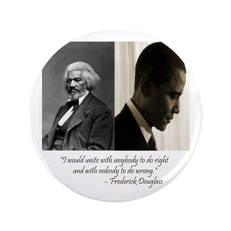 "Douglass-Obama 3.5"" Button (100 pack)"