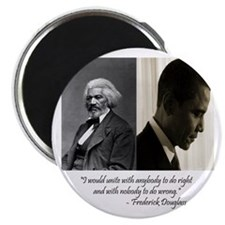 "Douglass-Obama 2.25"" Magnet (10 pack)"