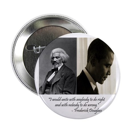 "Douglass-Obama 2.25"" Button (100 pack)"