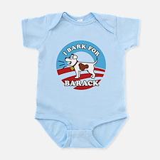 #1 dog Infant Bodysuit