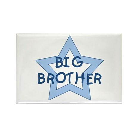 Big Brother Rectangle Magnet