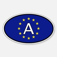 Austria car sticker (Europe)