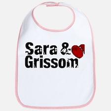 Sara & Grissom CSI Bib