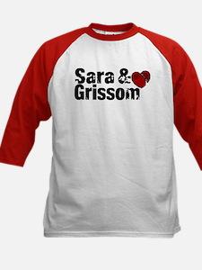 Sara & Grissom CSI Tee