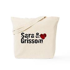 Sara & Grissom CSI Tote Bag