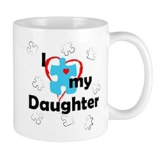 I Love My Daughter - Autism Mug