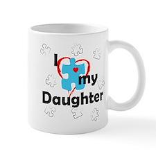 I Love My Daughter - Autism Mug