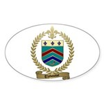 THIBOUTOT Family Oval Sticker