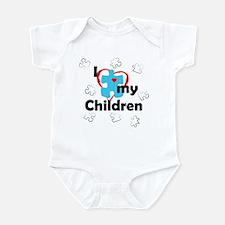 I Love My Children - Autism Infant Bodysuit