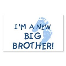 New Big Brother Rectangle Decal