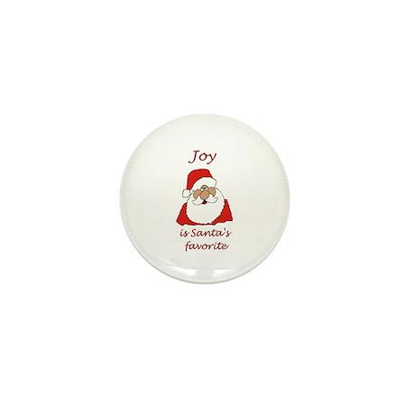 Joy Christmas Mini Button