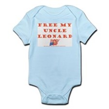 Free my uncle Leonard Infant Creeper