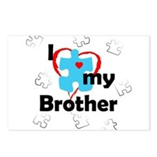 I Love My Brother - Autism Postcards (Package of 8