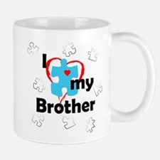 I Love My Brother - Autism Mug