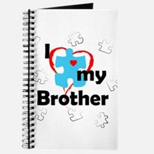 I Love My Brother - Autism Journal