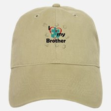 I Love My Brother - Autism Baseball Baseball Cap
