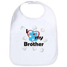 I Love My Brother - Autism Bib